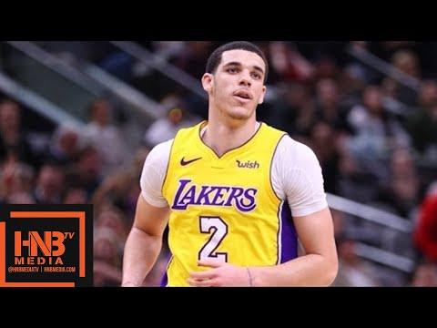 Los Angeles Lakers vs San Antonio Spurs Full Game Highlights / March 3 / 2017-18 NBA Season (видео)