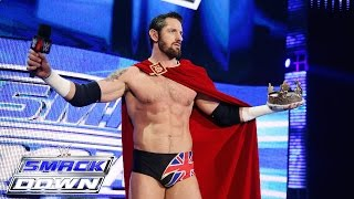 King Barrett addresses his subjects in the WWE Universe: SmackDown, July 23, 2015
