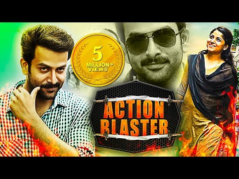 Action Blaster 2016 Hind Dubbed Full Action Movie | Prithviraj Sukumaran, Chandini Sreedharan