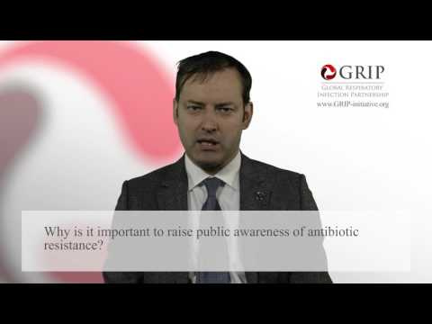 Why raising public awareness of AMR is important