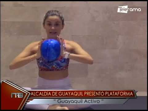 Alcaldía de Guayaquil presentó plataforma Guayaquil Activo