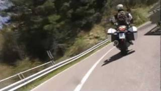 2011 Moto Guzzi Norge GT8V Ultimate review and onboard with Tor Sagen from Florence. http://www.facebook.com/Raptorama