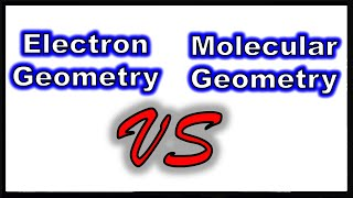 Molecular Geometry VS Electron Geometry - The Effect Of Lone Pairs On Molecular Shape