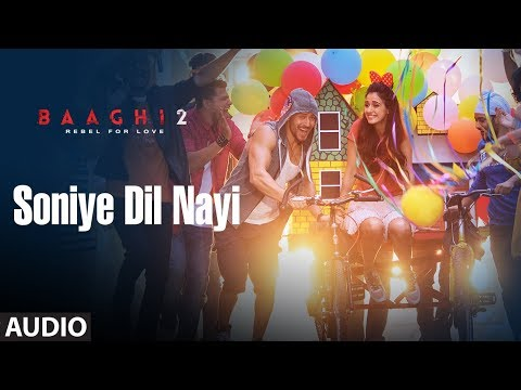 Soniye Dil Nayi Full Audio Song | Baaghi 2 | Tiger