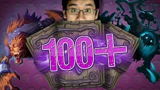 TRUMP OPENS 100+ WITCHWOOD PACKS - Hearthstone - The Witchwood
