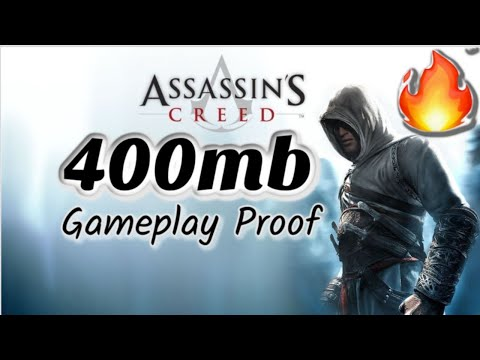 Download Assassins Creed 1 For PC Highly Compressed In 400MB Only with Full Setup