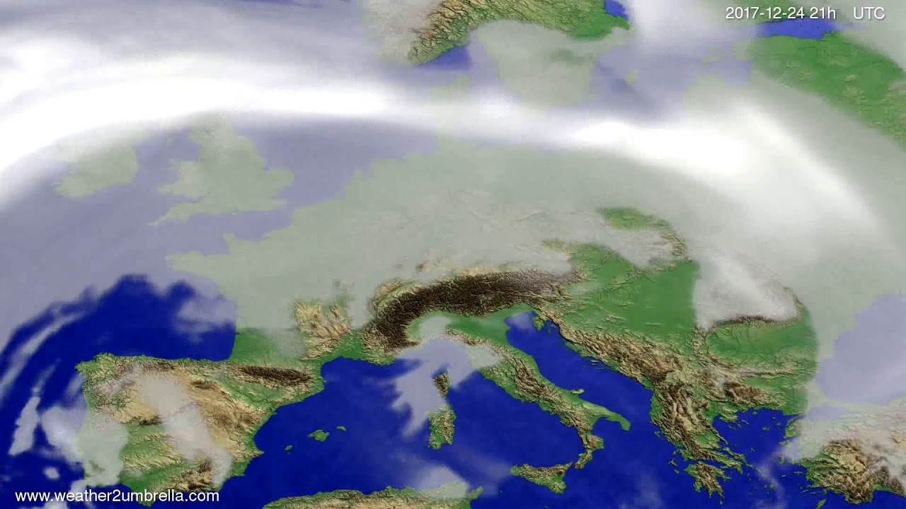 Cloud forecast Europe 2017-12-21