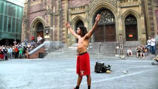 Download Video Funny Street Artist in Montreal MP3 3GP MP4