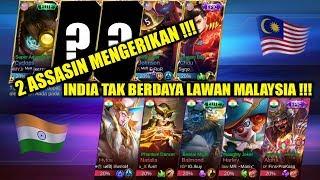Ngeri !!! 2 Assasin Buat INDIA Tak Berdaya !!! MALAYSIA VS INDIA Arena Contest