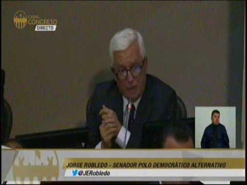 Para que se sepa toda la verdad sobre la corrupción de Odebrecht, cité debate: Robledo