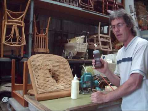 Chair Caning – How To – Pe-Woven Pt.1