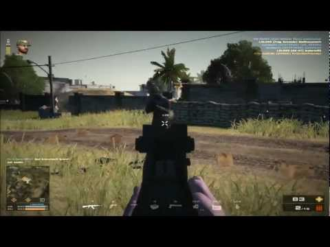 Battlefield Play4Free / Weapon-Review  HD / AK-47 / Commentary (German/Deutsch)/CODES FOR M145 Sight