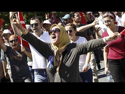Η επόμενη ημέρα στους δρόμους της Κωνσταντινούπολης