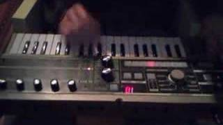 Fooling around on Micro Korg