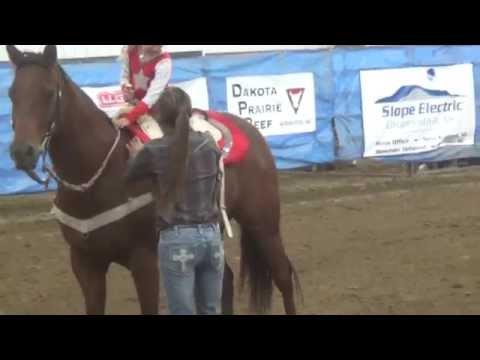 Payton trick riding at Bowman pro rodeo * 9.21.2014