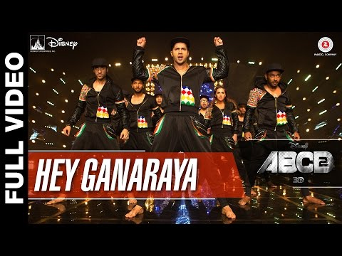 Video Hey Ganaraya Full Video | Disney's ABCD 2 | Varun Dhawan & Shraddha Kapoor | Divya Kumar download in MP3, 3GP, MP4, WEBM, AVI, FLV January 2017