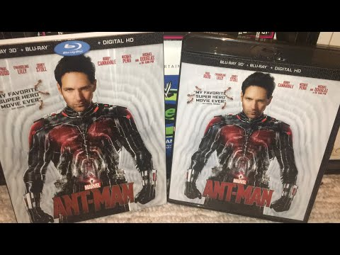Ant-Man (2015) Blu-Ray Review