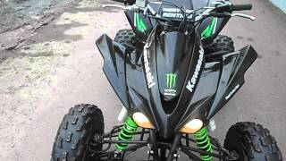 10. 2009 Kawasaki KFX450R Monster Energy.AVI