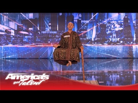 Special Head Levitates and Shocks the Crowd - America's Got Talent