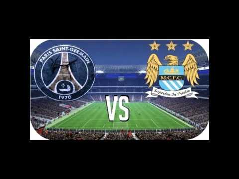PSG Vs Man City Live Streaming 06-04-2016