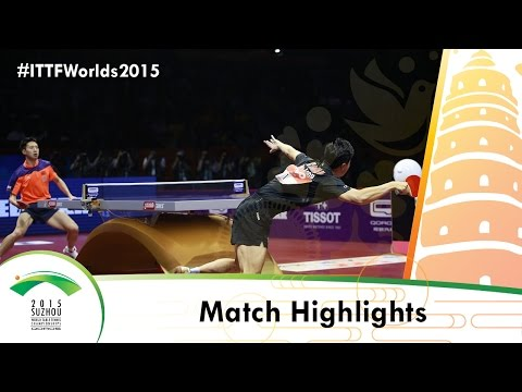 WTTC 2015 Extended Highlights: MA Long vs FANG Bo (FINAL)