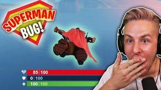 Mit diesem EINFACHEN BUG könnt ihr in FORTNITE SUPERMAN spielen!