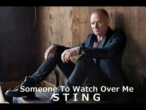 Sting - Someone To Watch Over Me lyrics
