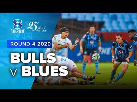 Bulls v Blues Rd.4 2020 Super rugby video highlights   Super Rugby Video Highlights