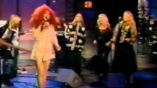 Cher - Save Up All Your Tears (on Letterman) 1991