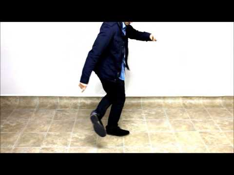 How to Dance in a Club | The Indian Step (advance footwork)