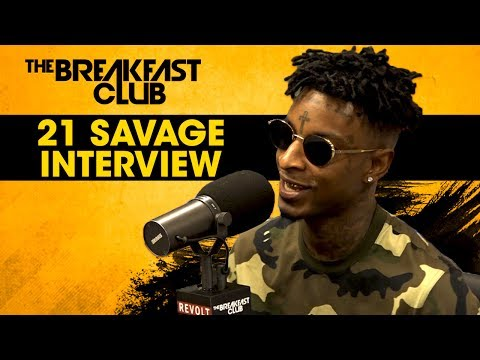 21 Savage Opens Up About Dating Amber Rose, First Album Success & Much More W/ The Breakfast Club