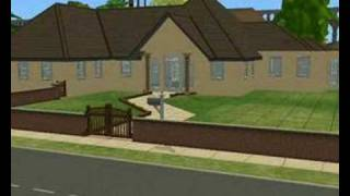 The Sims 2 Building Simple Home Time Lapse