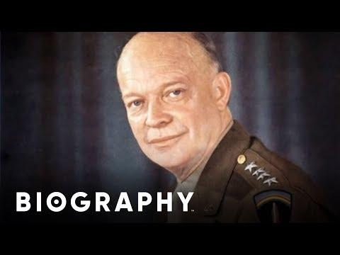 Dwight D. Eisenhower - 34th U.S. President & Commander of Allied Forces in WW2   Mini Bio   BIO