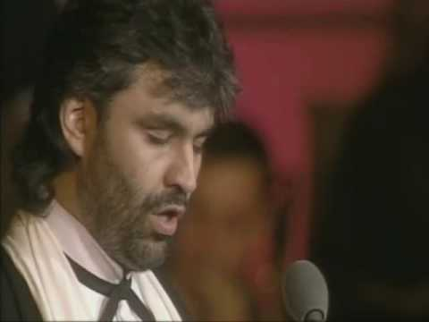""", title : 'Andrea Bocelli """"O Sole Mio """" Live on stage in Tuscany'"""