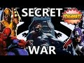 VIDEOCOMIC: LA GUERRA SECRETA MARVEL || SECRET WAR