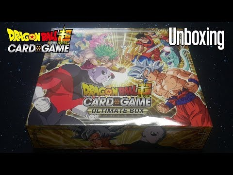 NEW YEAR, NEW TCG! - Dragon Ball Super Card Game Ultimate Box Unboxing