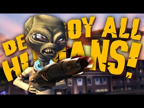 WHAT YA THINKING ABOUT? | Destroy All Humans #3 (видео)