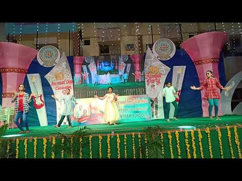 JIMIKI KAMAL SONG PERFORMANCE KKR'S GOWTHAM SCHOOL GUNTUR 10Th ANNIVERSARY DAY