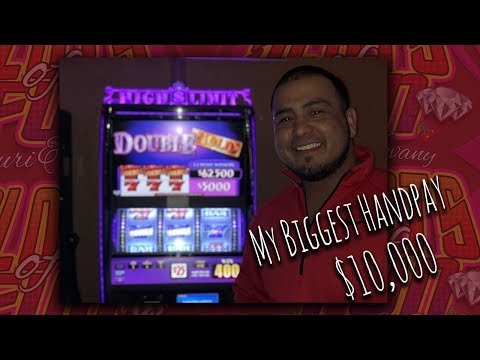 $10,000 Jackpot win! My biggest win caught live!