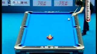 2009 World Pool 9-Ball China Open Lee(李珍妮) V Chang(張舒涵) 2/8.