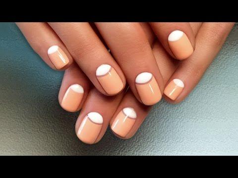 Смотреть онлайн видео уроки дизайн ногтей