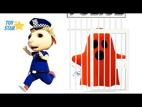 New 3D Cartoon For Kids ¦ Dolly And Friends ¦ Kids Police Jail Playhouse Toy #91