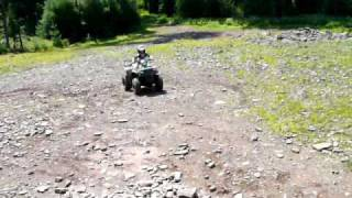 6. My 6 Year Old Son First Hill Climb On His Polaris Sportsman 90