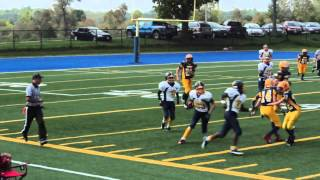 Week 3 - Pee Wee Warriors 39 vs Wolverines 7