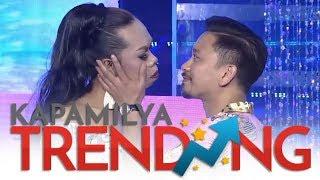 Video OMG! Vice, pinagbigyan ang hiling ng Miss Q and A na halikan si Jhong! 😘😂 MP3, 3GP, MP4, WEBM, AVI, FLV April 2019