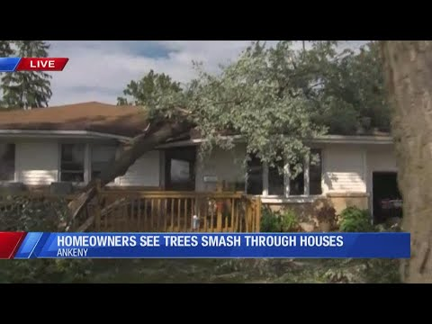 Iowa severe weather coverage: Strong rain, winds sweep across the state (August 10, 2020)