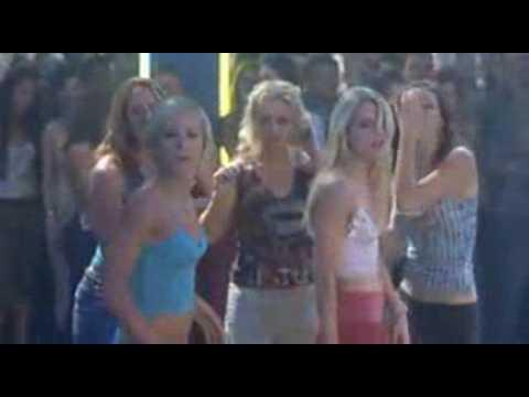 Chicas blancas con traseros negros