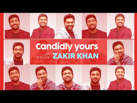 Candidly Yours with Zakir Khan | Exclusive Interview