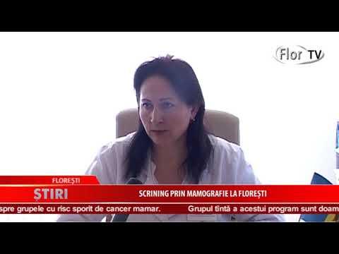 Scrining prin mamografie la Florești