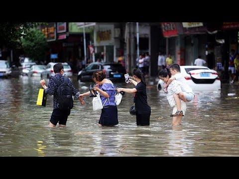 Κίνα: Δώδεκα νεκροί από το σαρωτικό πέρασμα του τυφώνα Χάτο